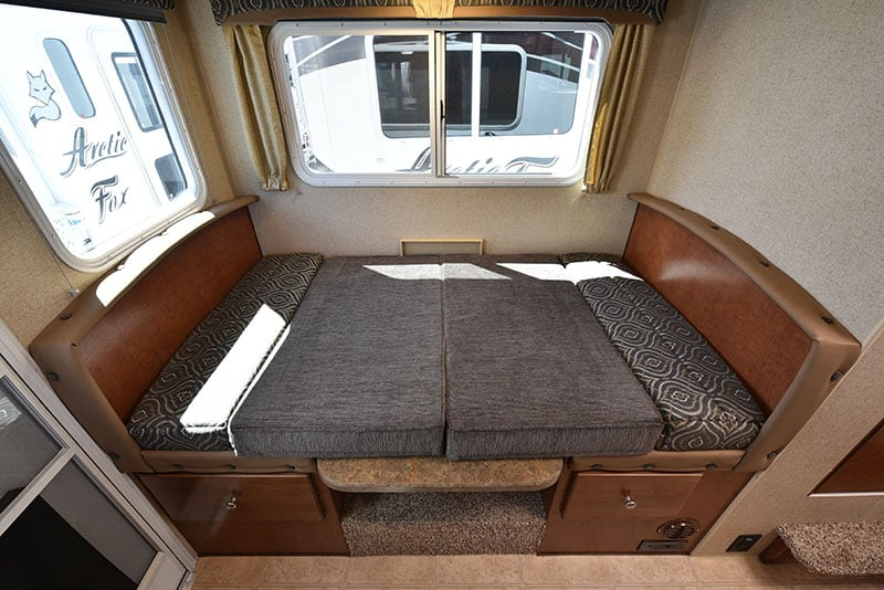 Arctic Fox 865 Dinette Made Into Bed