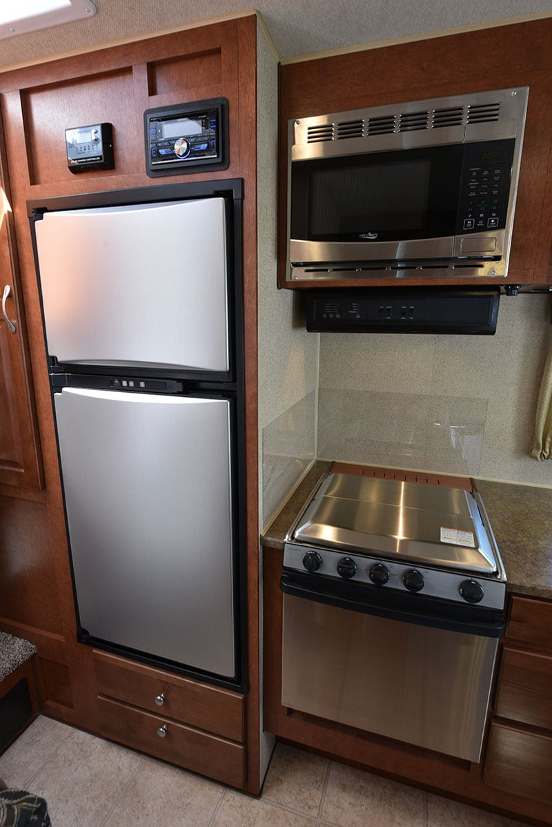 Arctic Fox 865 Kitchen Refer Oven Microwave