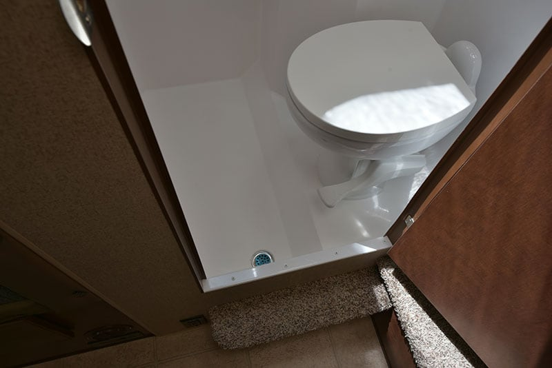 Arctic Fox 865 Wet Bath Foot Flush Toilet