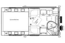 Cirrus 720 By NuCamp Floor Plan Buyers Guide