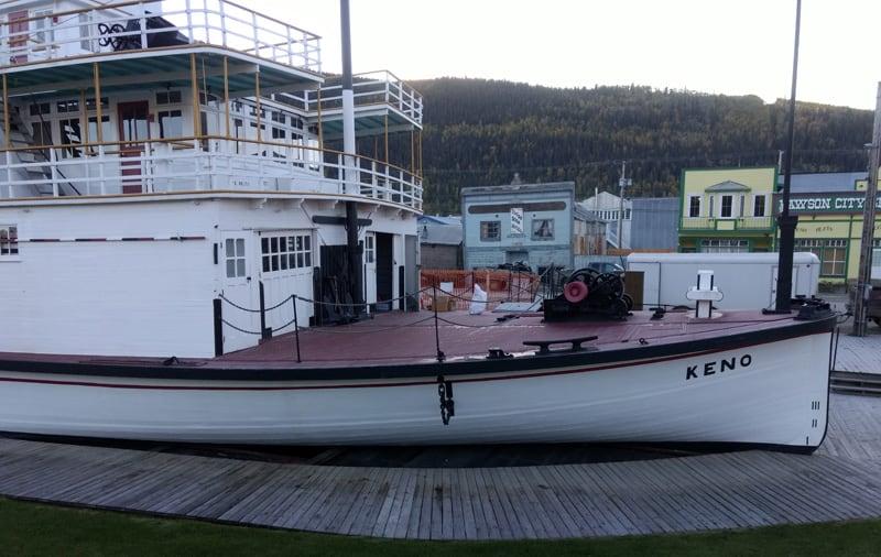 Dawson City Keno Boat