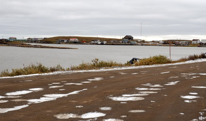 The town of Tuktoyaktuk