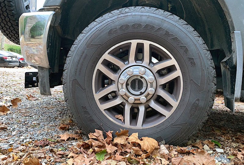Holes For The Front Tires Expedient Leaf Camouflage