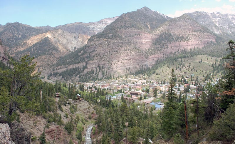 Ouray, Colorado Mountains