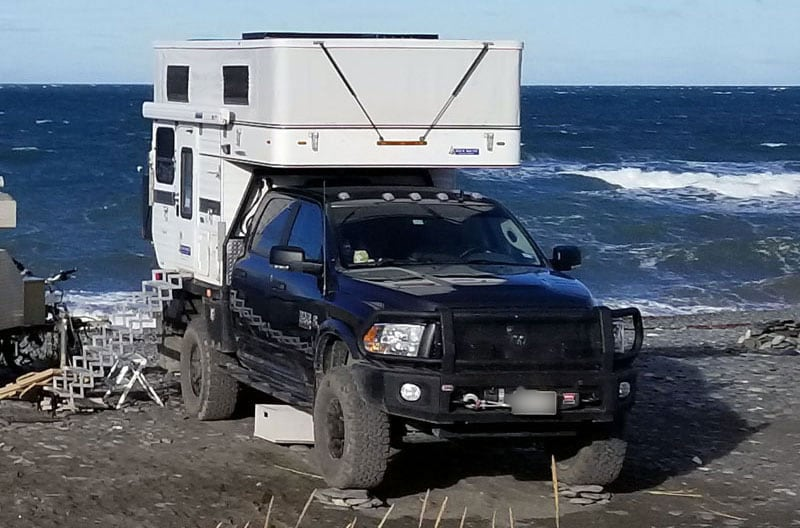 Rock Stacks To Level RV