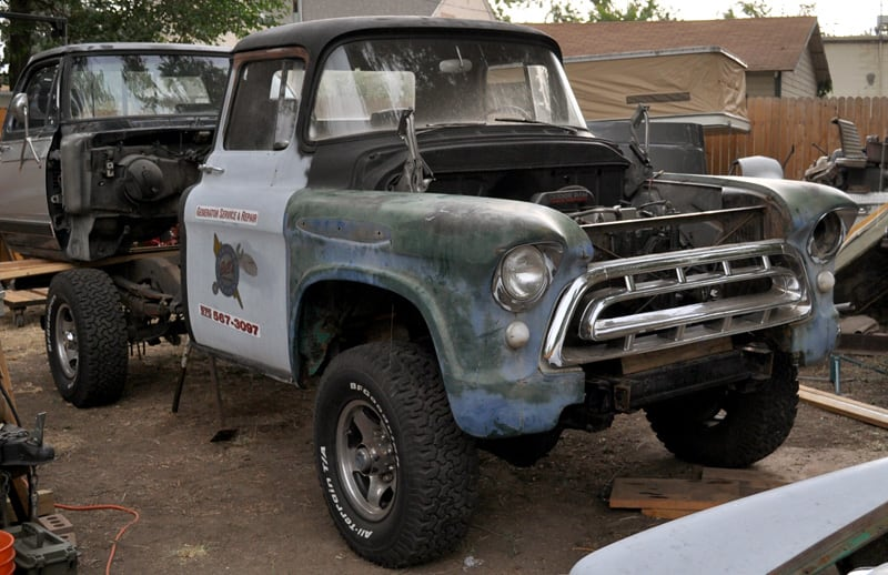 1957 Chevy Before Restoration