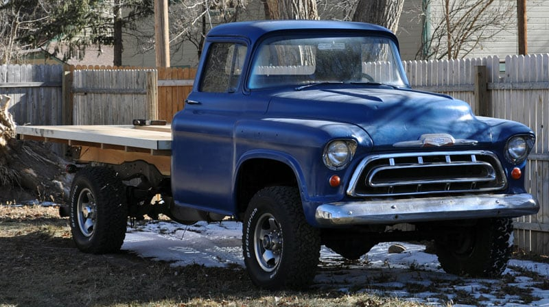 1957 Chevy Before Tool Boxes