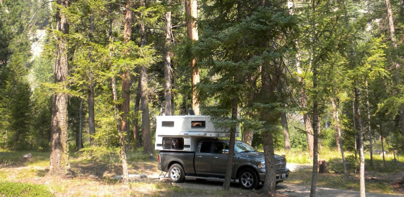 Alta Campground In The Bitterroot National Forest