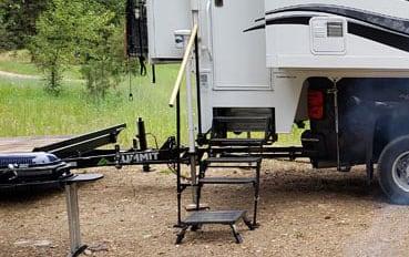 Banister On Camper