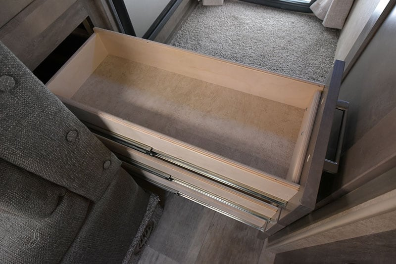 Bigfoot Hallway Drawers Short Bed Camper