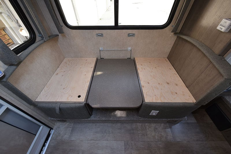 Bigfoot Camper Dinette Bed Platform