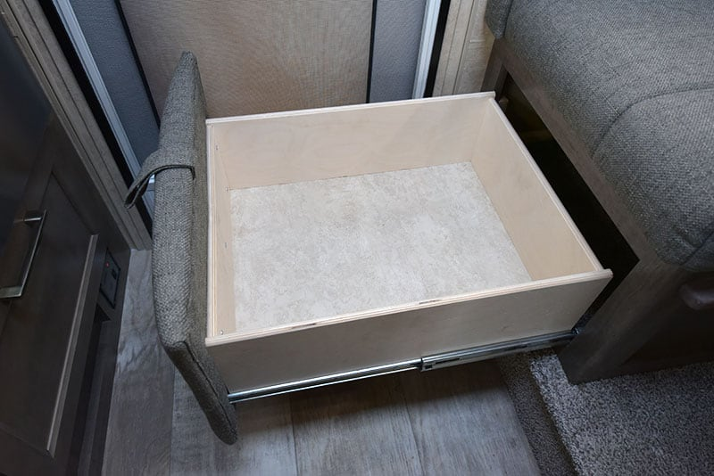 Bigfoot Dinette Pull Out Drawer