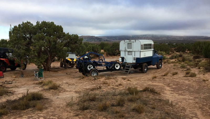Camping In Moab With Alaskan Camper