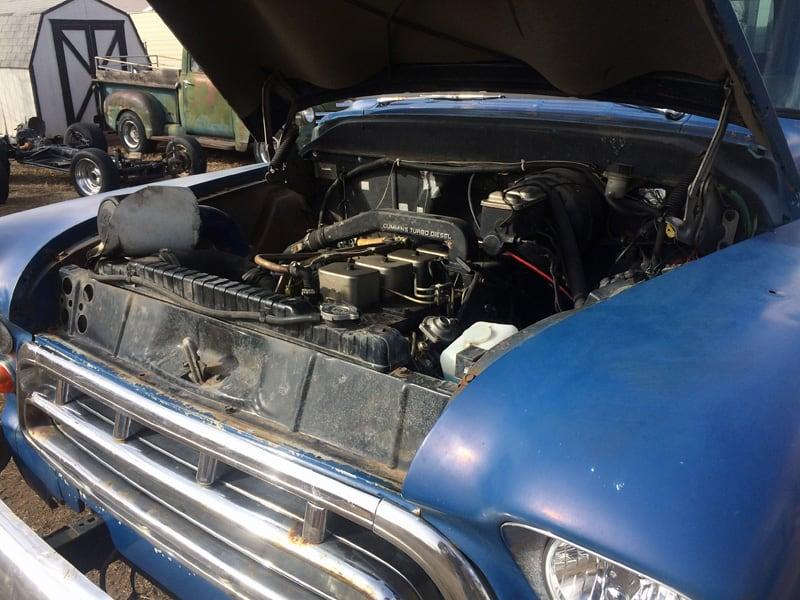 Cummins Diesel In Chevy Truck