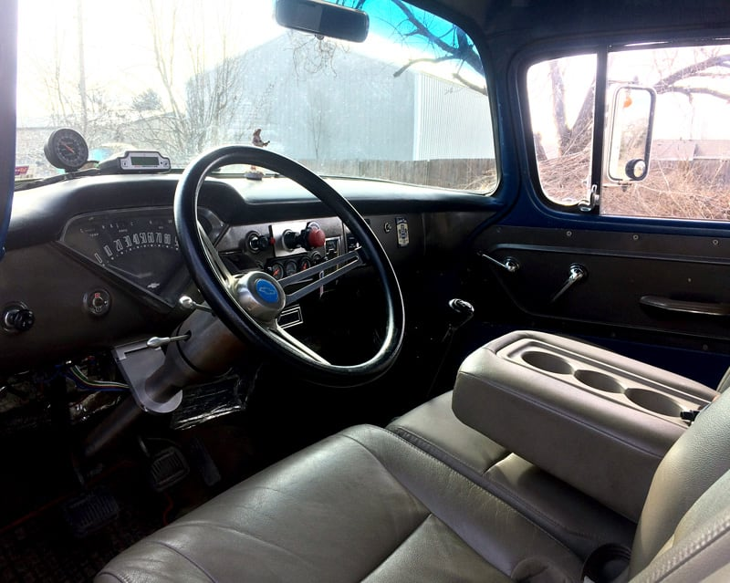 Dashboard Of 1957 Chevy Truck