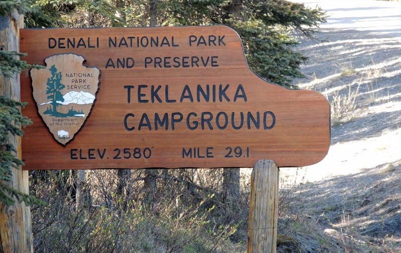 Denali Teklanika Campground Park