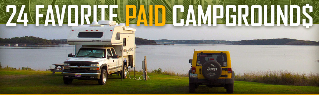 Favorite Paid Campgrounds