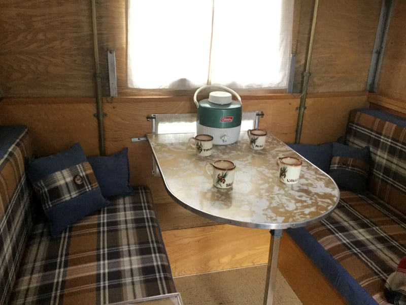 Inside A 1958 Alaskan Camper
