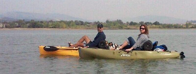 Kayaking Lakes In Colorado