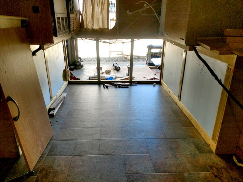 New Camper Floor To Increase Square Footage