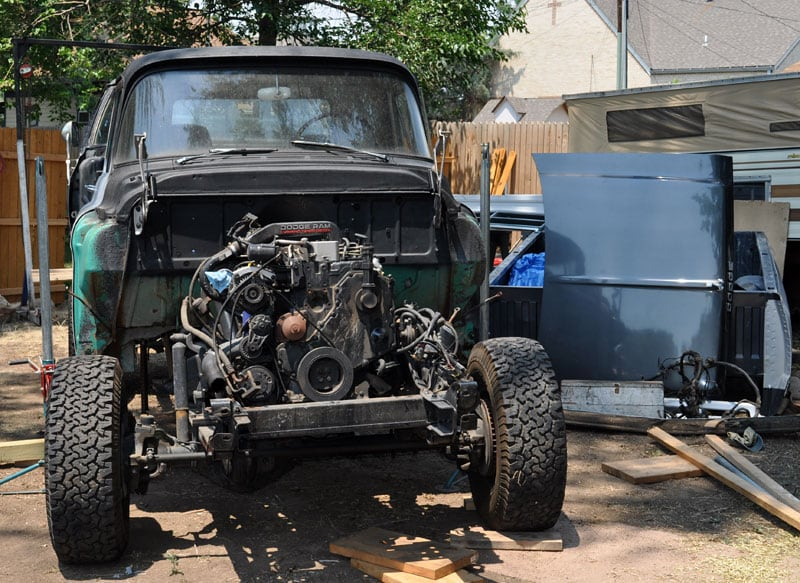 Putting The Dodge Engine In The Chevy