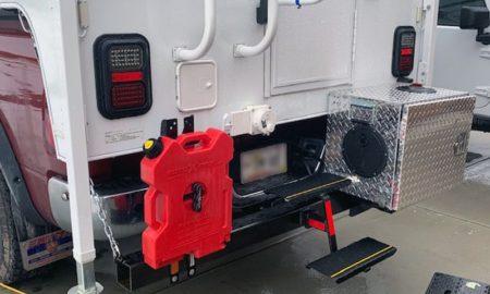 Rear Bumper Generator And Rotopax
