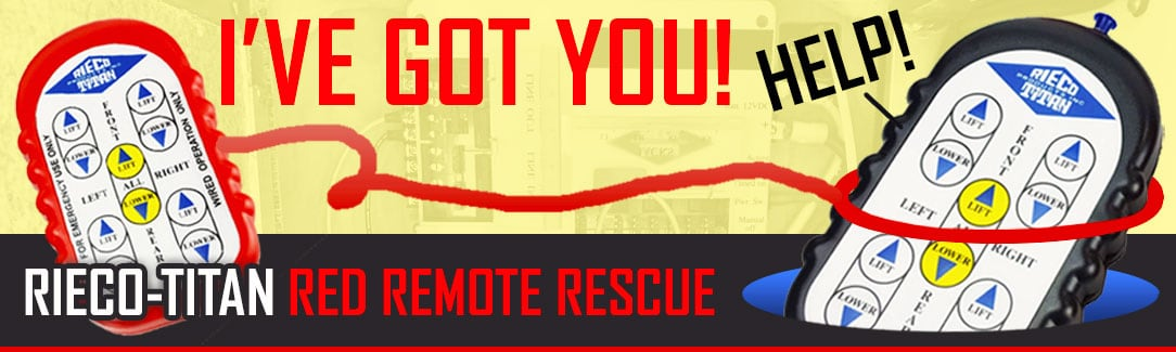 Rieco-Titan Red Remote Rescue