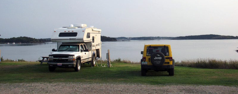 Sunset Point RV Park in Lubec, Maine