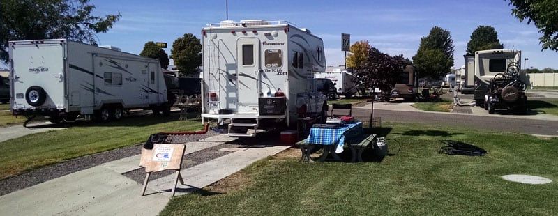 Wine Country RV Park, Prosser, Washington