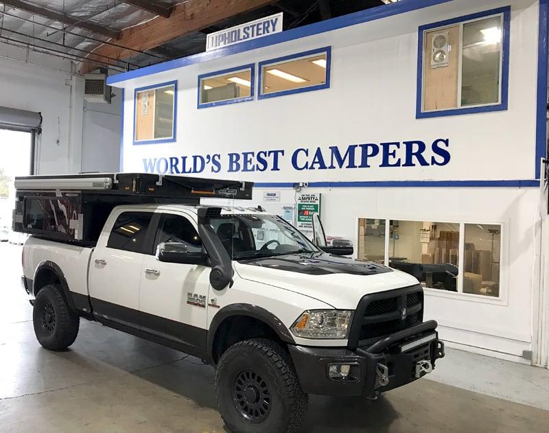 AEV Ram Prospector Camper