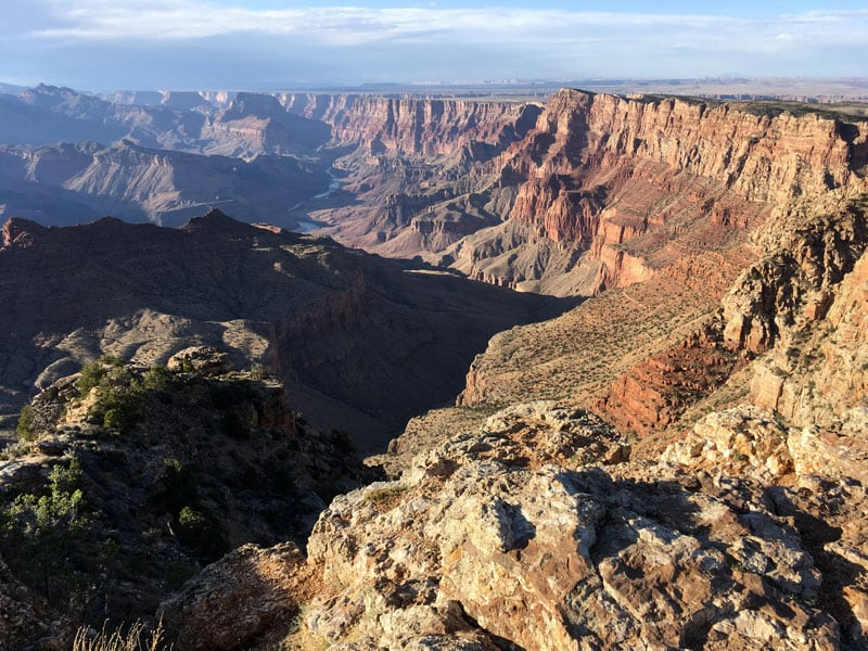 Beautiful Picture Of The South Rim Grand Canyon
