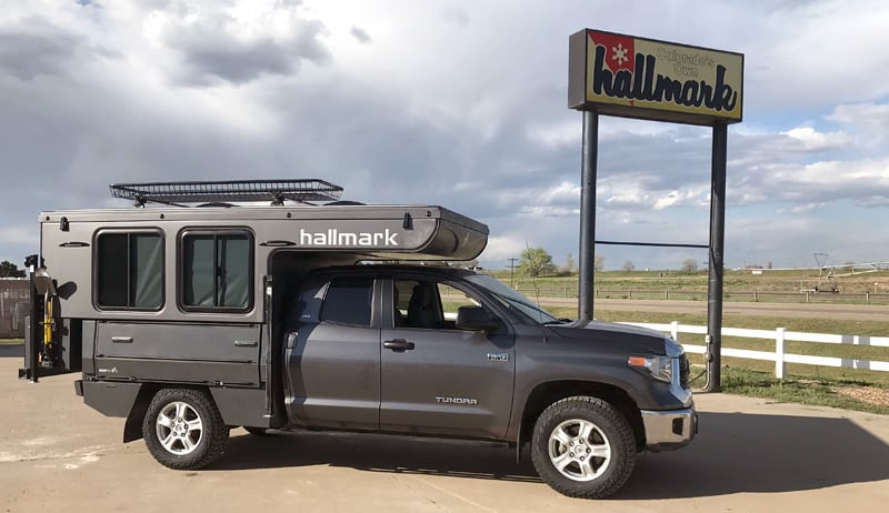 2019 Hallmark K2 Feature Rig With SherpTek - Truck Camper