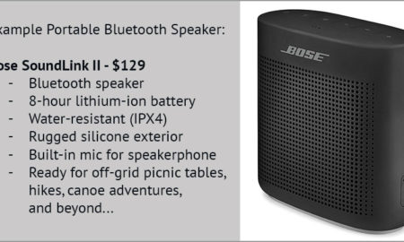 Bose Soundlink II For Camping