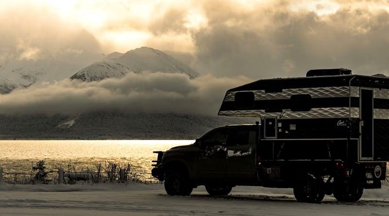 Capri Camper Traveling Alaska