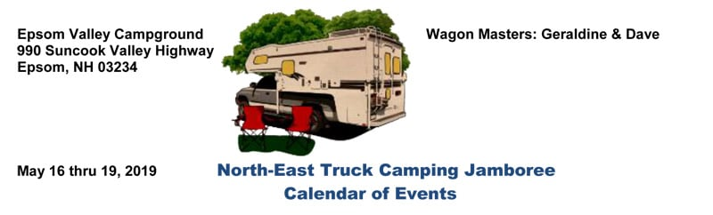 Epsom Valley Campground Rally