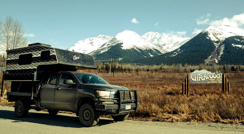 Girdwood, Alaska Camper
