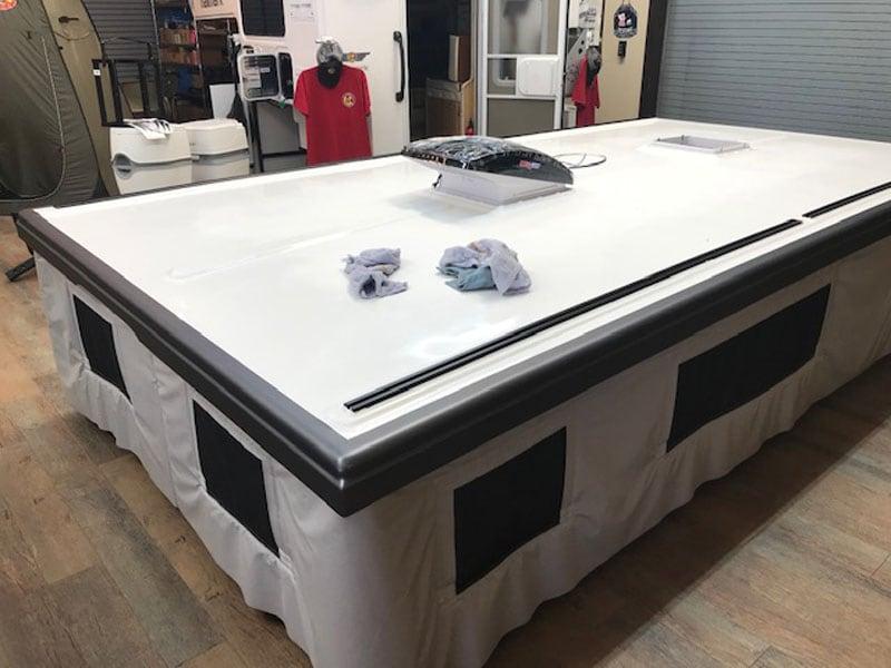 Hallmark K2 Roof Stays White