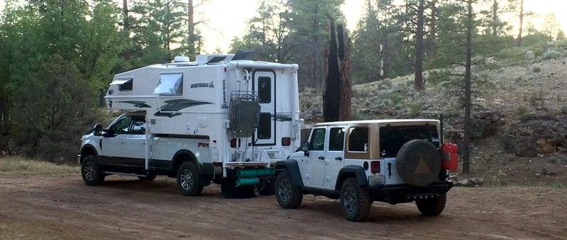 Long Jim Loop Campsite