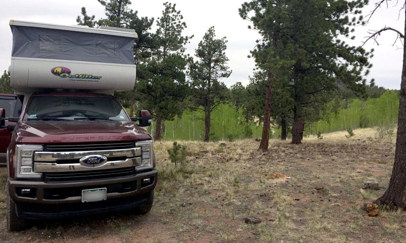 Outfitter Backcountry Camping