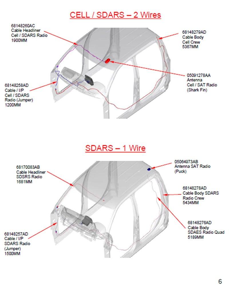 Shark Fin Sirius Antenna Relocation For Ram Trucks - Truck ... on