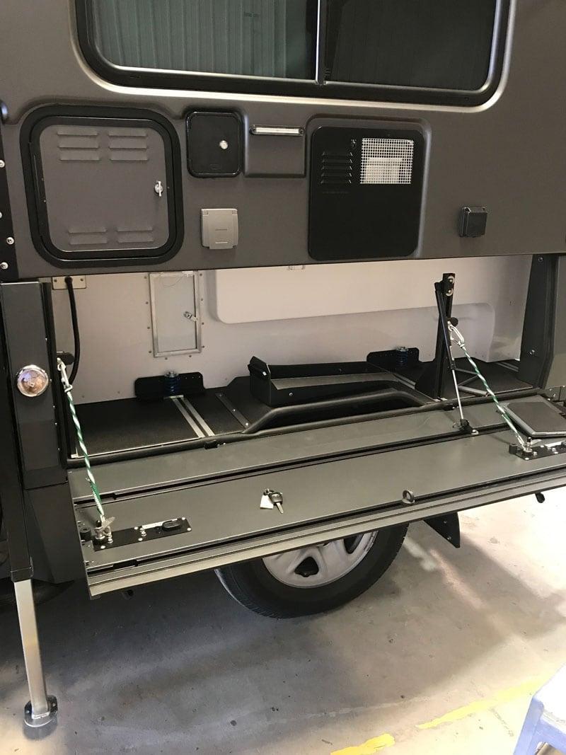 Storage Compartment Sherptek Bed
