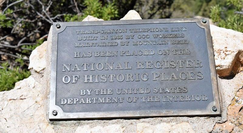 Trans Canyon Telephone Line Grand Canyon