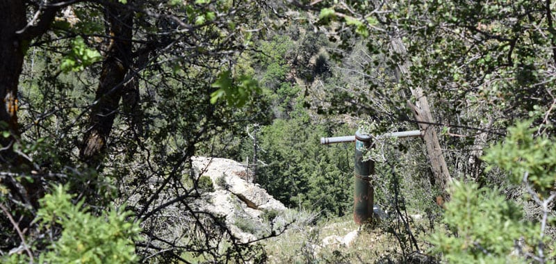 Trans Canyon Telephone Line
