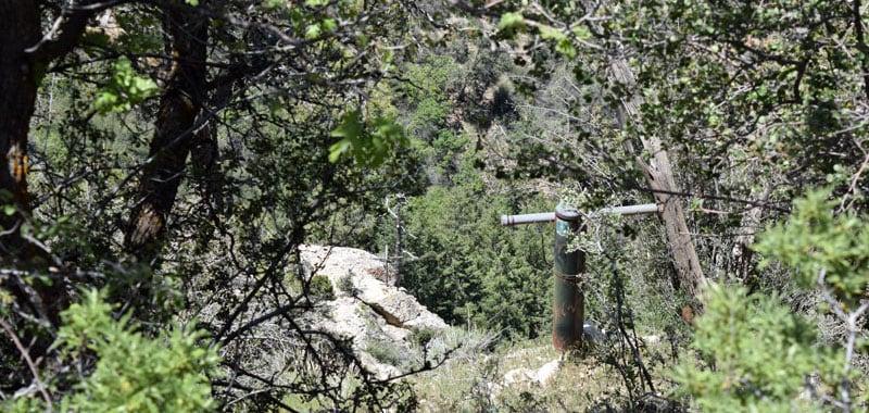 Trans Canyon Telephone Line