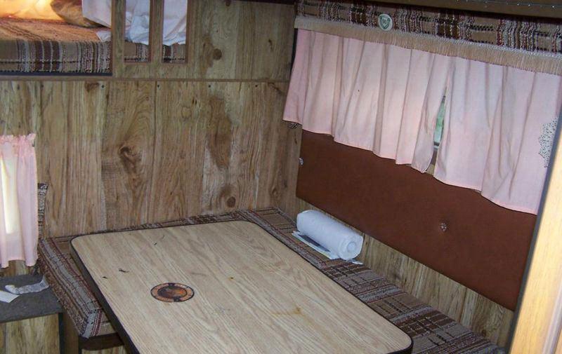 Travel Mate Camper Before Renovation