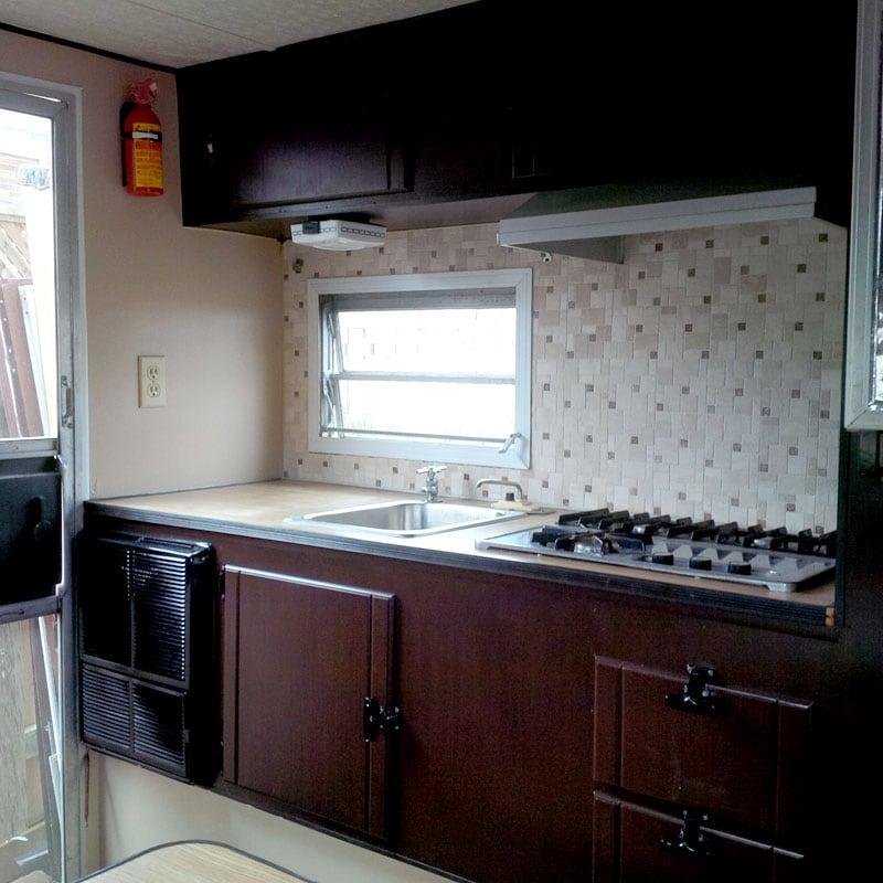 Travel Mate Camper New Kitchen