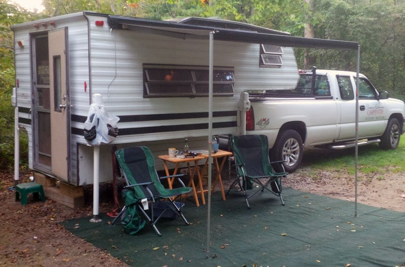 Travel Mate Camper With Electric Jacks
