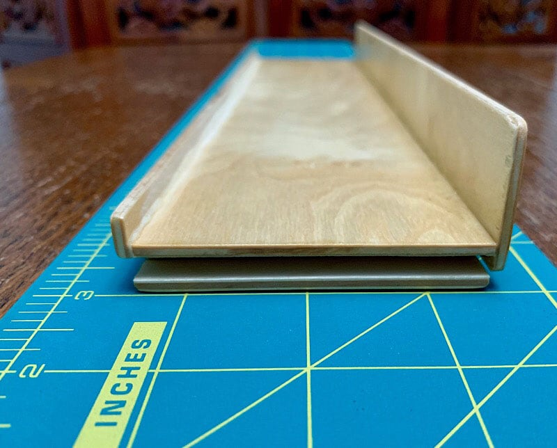 Bathroom Shelf Blockers Measurements