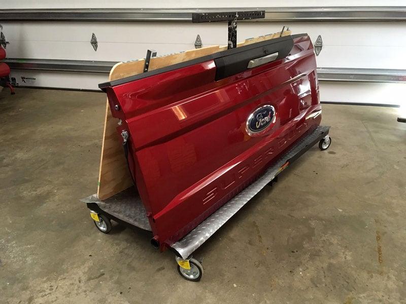 Garage Rack Tailgate