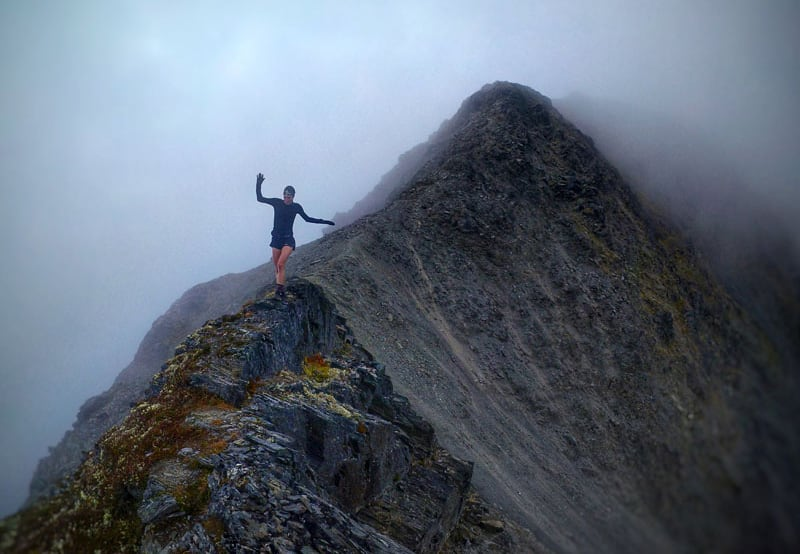 Gloomier Day On Alyeska Mountain